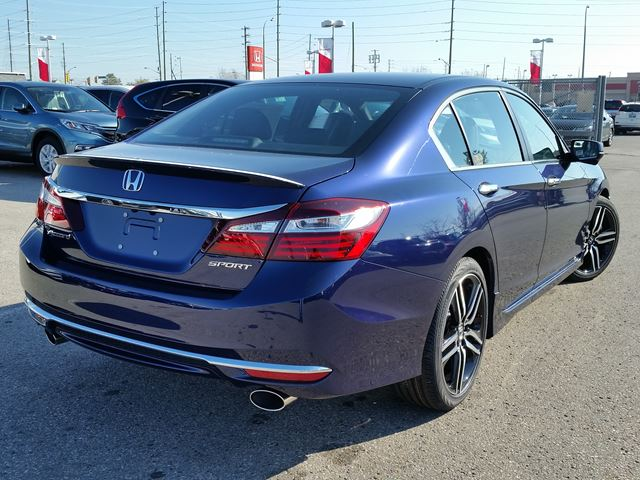 2016 honda accord sport whitby ontario car for sale 2318720. Black Bedroom Furniture Sets. Home Design Ideas