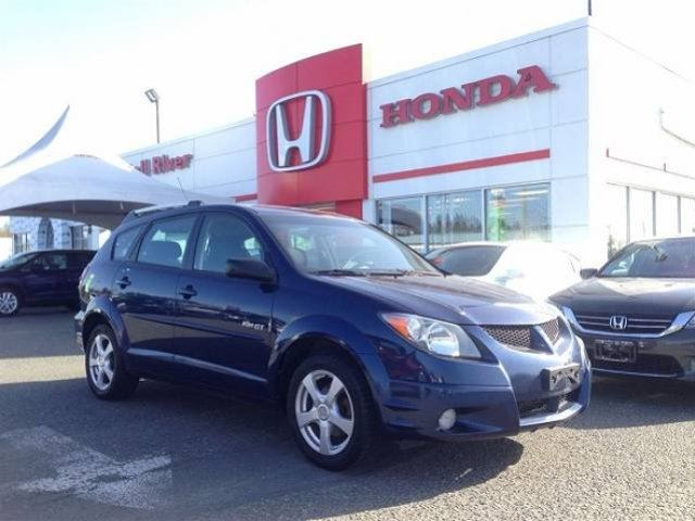 2003 pontiac vibe gt blue campbell river honda. Black Bedroom Furniture Sets. Home Design Ideas