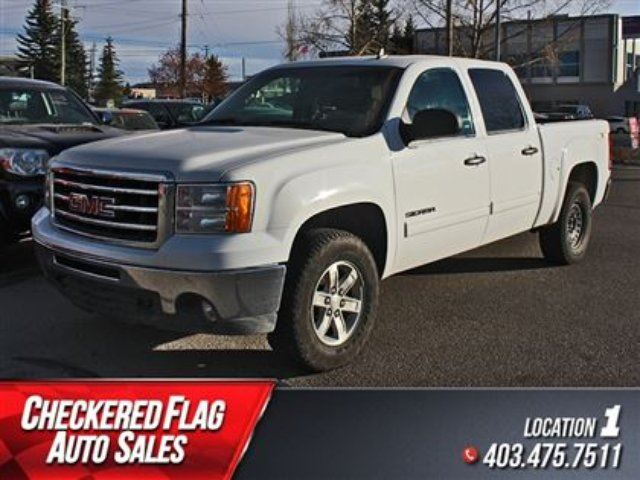 2013 gmc sierra 1500 sle w 4x4 low km factory tow calgary alberta used car for sale 2319830. Black Bedroom Furniture Sets. Home Design Ideas
