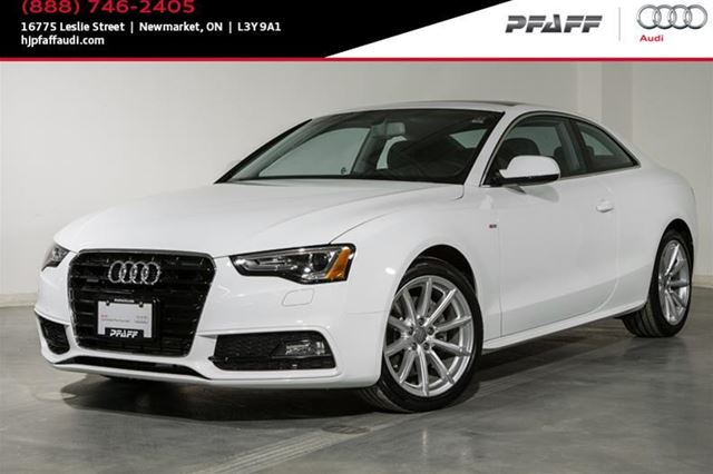 2015 audi a5 2 0t progressiv quattro 8sp tiptronic cpe newmarket ontario used car for sale. Black Bedroom Furniture Sets. Home Design Ideas