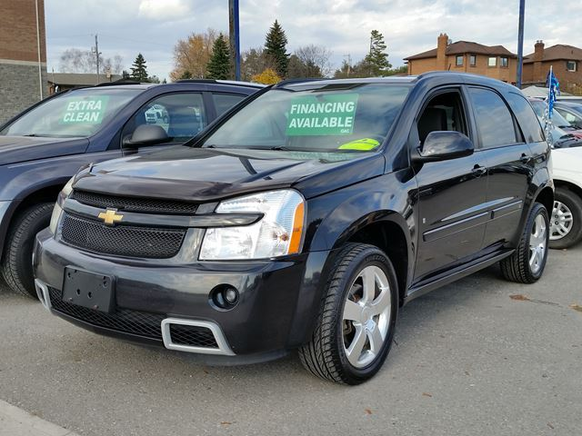 2008 chevrolet equinox sport black rer automobiles. Black Bedroom Furniture Sets. Home Design Ideas