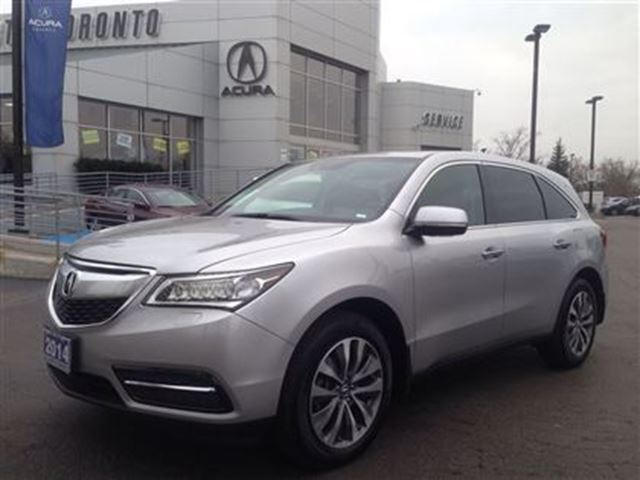2014 acura mdx navigation package silver acura of north. Black Bedroom Furniture Sets. Home Design Ideas