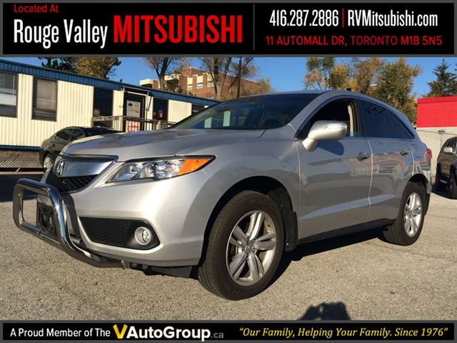 2013 acura rdx technology package no accident silver rouge valley mitsubishi. Black Bedroom Furniture Sets. Home Design Ideas