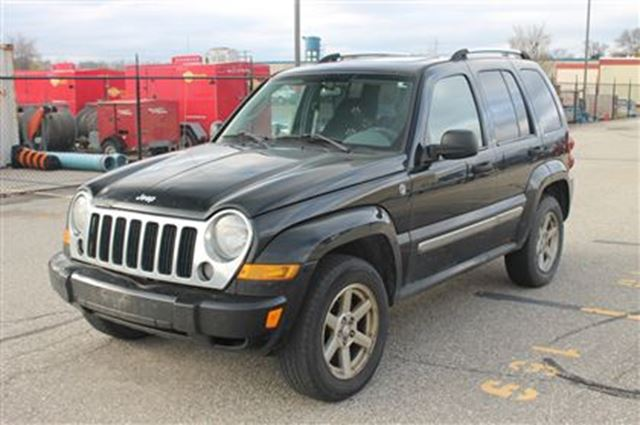 2007 jeep liberty limited edition 4x4 as is kitchener ontario used car for sale 2324215. Black Bedroom Furniture Sets. Home Design Ideas