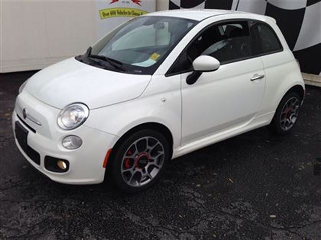 2014 fiat 500 sport automatic white j p motors. Black Bedroom Furniture Sets. Home Design Ideas