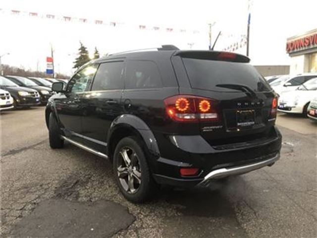 2015 dodge journey crossroad awd sunroof 7 seats bluetooth re toronto ontario used car for. Black Bedroom Furniture Sets. Home Design Ideas