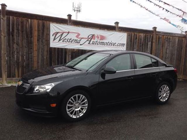 2012 chevrolet cruze eco w 1sa black westend automotive. Black Bedroom Furniture Sets. Home Design Ideas