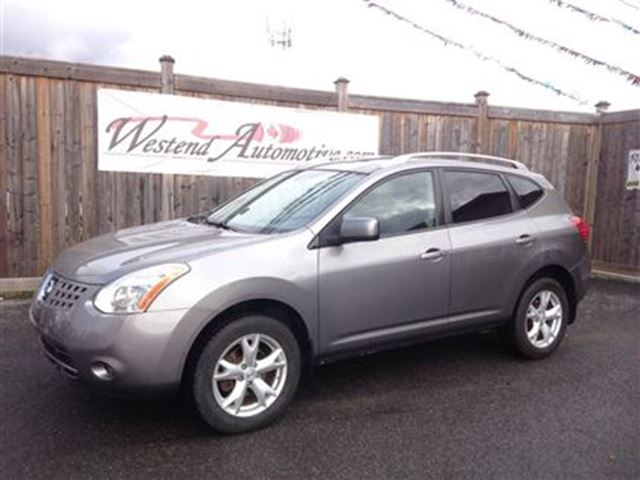 2008 nissan rogue sl ottawa ontario used car for sale. Black Bedroom Furniture Sets. Home Design Ideas