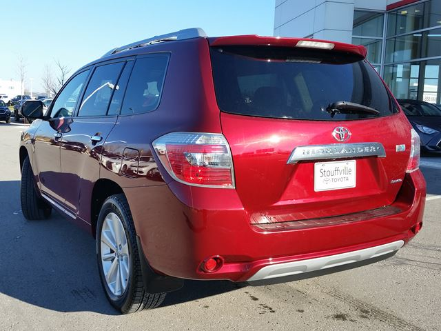 2010 Toyota Highlander LIMITED HYBRID - ONE-OWNER ...