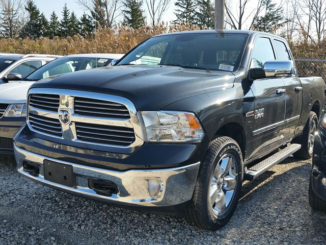 2016 ram 1500 big horn 4x4 black vaughan chrysler dodge jeep new car. Black Bedroom Furniture Sets. Home Design Ideas