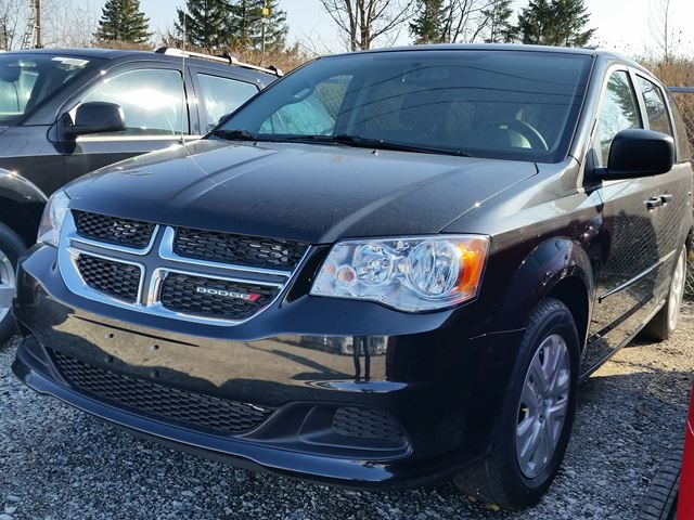 2016 dodge grand caravan sxt black vaughan chrysler dodge jeep new car. Black Bedroom Furniture Sets. Home Design Ideas