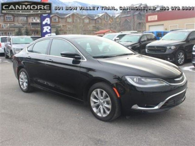 2015 CHRYSLER 200 C Sunroof Nav Leather in Canmore, Alberta