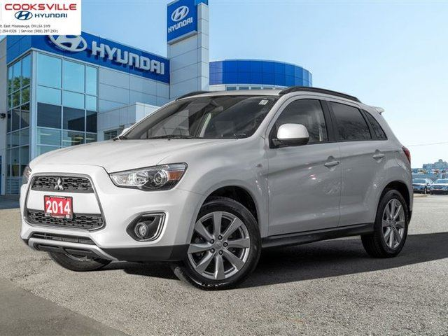 2014 Mitsubishi Rvr Limited Awd Trade In White