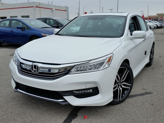 2016 honda accord touring whitby ontario new car for sale 2326491. Black Bedroom Furniture Sets. Home Design Ideas