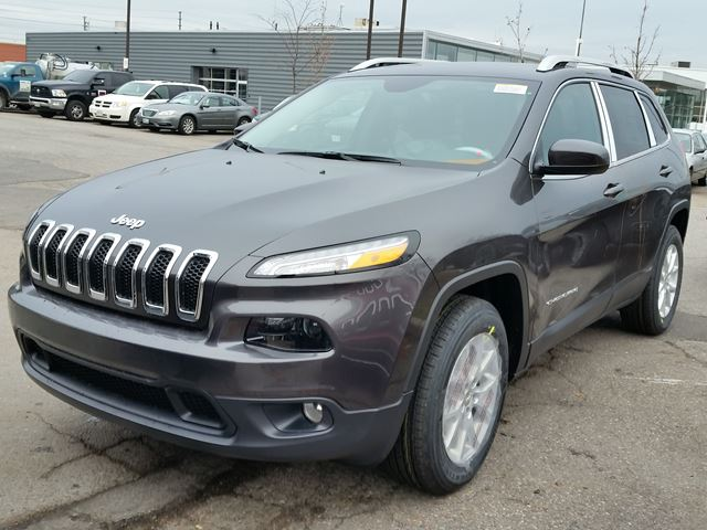 2016 jeep cherokee north 4x4 vaughan ontario car for sale 2326223. Black Bedroom Furniture Sets. Home Design Ideas