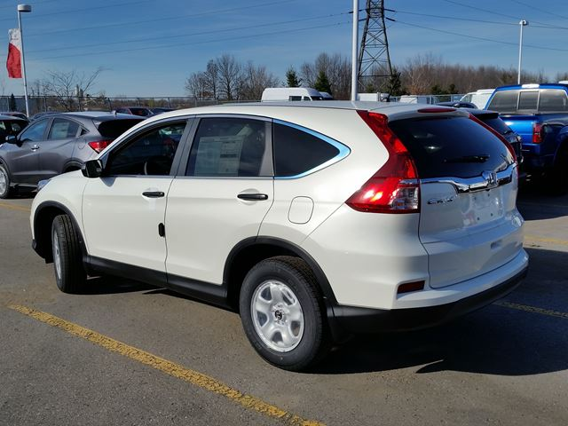 2016 honda cr v lx white in whitby for Honda crv 2016 white