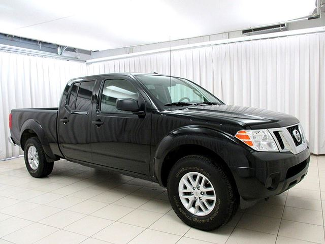 2015 nissan frontier sv 4x4 crew cab black o 39 regan 39 s. Black Bedroom Furniture Sets. Home Design Ideas