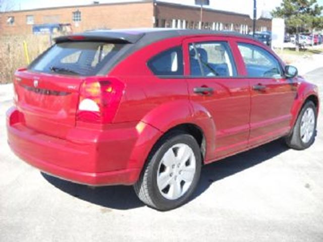2007 dodge caliber sxt mississauga ontario used car for sale 2327583. Cars Review. Best American Auto & Cars Review