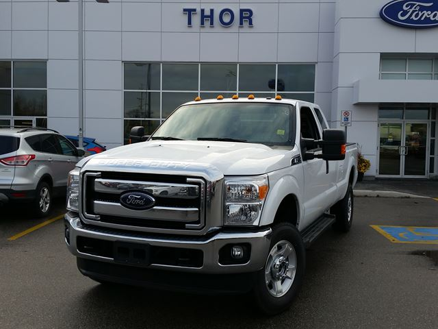 2016 ford super duty f 250 xlt white thor motors new car. Black Bedroom Furniture Sets. Home Design Ideas