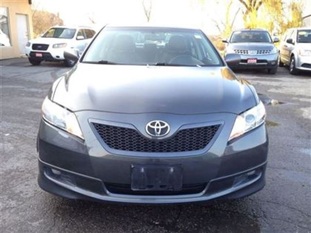 used 2008 toyota camry se leather and sunroof for 7990 in bolton ontari. Black Bedroom Furniture Sets. Home Design Ideas