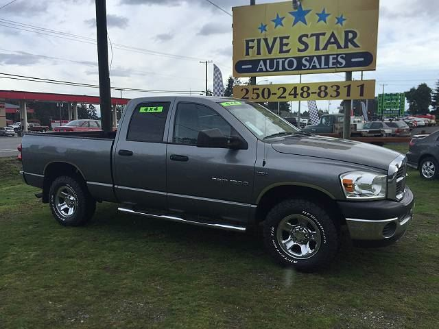 2007 DODGE RAM 1500 Quad Cab ST 4x4 5.7 Hemi in Parksville, British Columbia