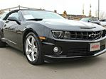 2011 Chevrolet Camaro SS CONVERTIBLE - LOCAL ALBERTA TRADE IN | NO ACCIDENTS | KENWOOD DOUBLE DIN DECK | NAVIGATION | BACK UP CAMERA | SIRIUS XM RADIO | HEATED LEATHER SEATS | CLIMATE CONTROL | REAR PARKING SENSORS | 426 HORSEPOWER | EXCELLENT CONDITION in Edmonton, Alberta