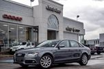 2012 Audi A4 2.0T Quattro Leather Sunroof 17 Alloys Xenons Htd Frt Seats Bluetooth Sat Radio Amazing Deal! in Thornhill, Ontario