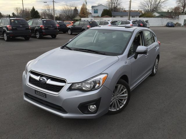 2014 subaru impreza limited demo repentigny quebec used car for sale 2330017. Black Bedroom Furniture Sets. Home Design Ideas