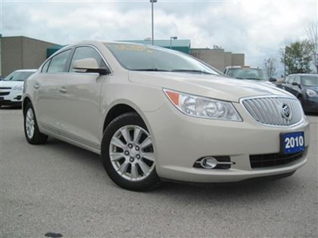 2010 buick lacrosse cxl beige mcgee motors ltd. Black Bedroom Furniture Sets. Home Design Ideas