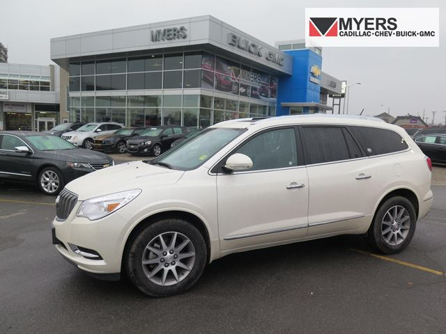2015 Buick Enclave Leather White Myers Cadillac