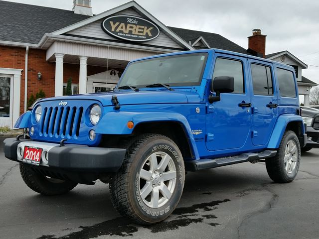 2014 jeep wrangler unlimited sahara 4x4 hardtop convertible paris ontario used car for sale. Black Bedroom Furniture Sets. Home Design Ideas