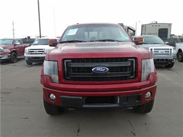 2013 Ford Ruby Red Fx4 With Appearance Package