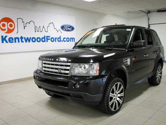 2008 Land Rover Range Rover Sport Supercharged Black