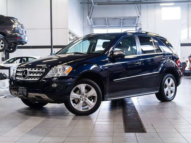 2010 mercedes benz m class ml350 bluetec 4matic blue for Mercedes benz ml350 4matic 2010