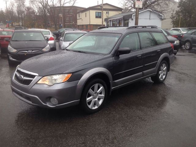 2008 subaru outback w limited pkg blue import car. Black Bedroom Furniture Sets. Home Design Ideas