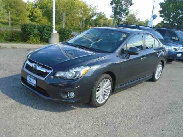 2012 subaru impreza limited whitby ontario car for sale 2336062. Black Bedroom Furniture Sets. Home Design Ideas