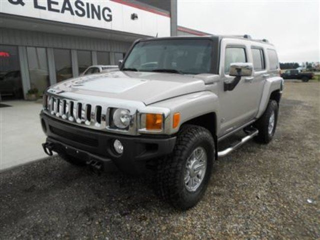 2007 hummer h3 suv innisfail alberta used car for sale. Black Bedroom Furniture Sets. Home Design Ideas
