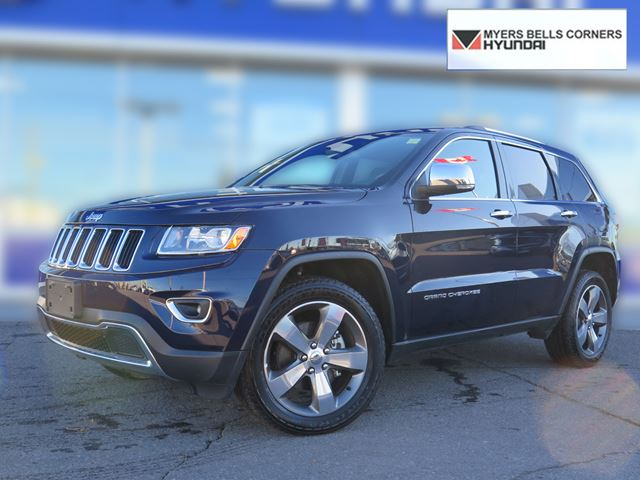 2015 jeep grand cherokee limited ottawa ontario used car for sale. Black Bedroom Furniture Sets. Home Design Ideas