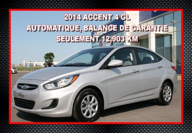 2014 Hyundai Accent GL Berline in Saint-Jean-Sur-Richelieu, Quebec
