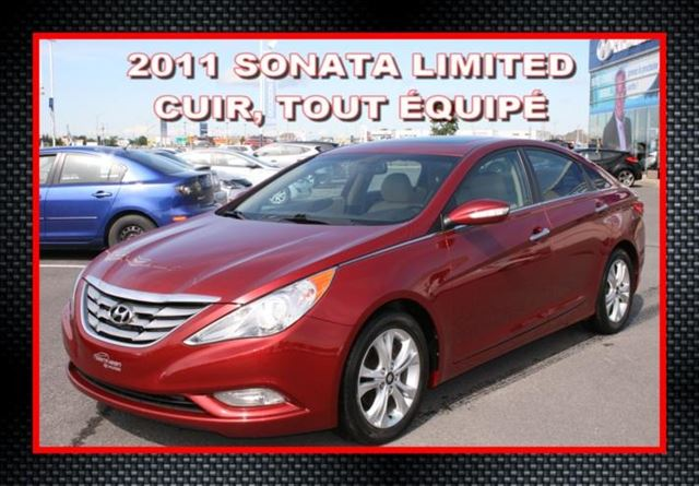 2011 Hyundai Sonata Limited in Saint-Jean-Sur-Richelieu, Quebec