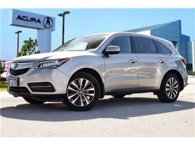 2015 Acura MDX Navigation at Navi CAM Sunroof Jewel EYE LED Push in Thornhill, Ontario