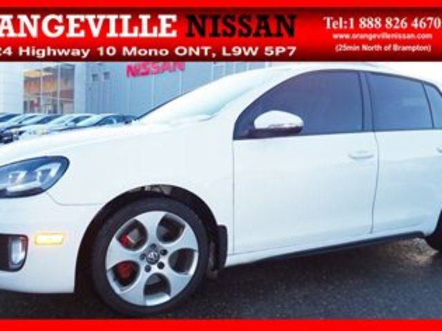 2010 VOLKSWAGEN Golf GTI Great Looking Car Safety and E-Test in Orangeville, Ontario