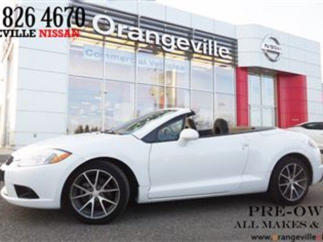 2011 MITSUBISHI ECLIPSE GS Great Looking Car with Convertible Top. in Orangeville, Ontario