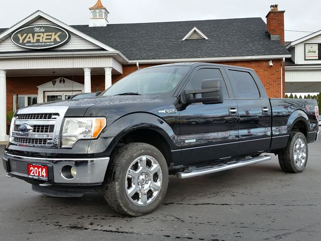 2014 Ford F 150 Xlt 4x4 Leather Heated Seats Bluetooth Back Up Cam Rear Park Sensors Black