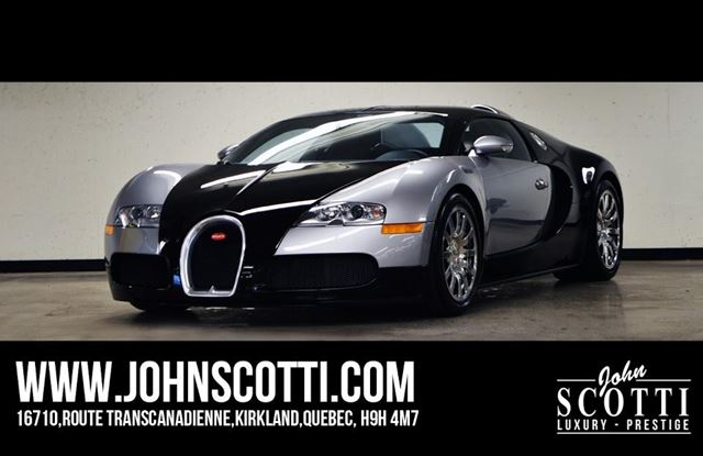 2008 bugatti veyron 8 0l w16 quad turbo kirkland quebec used car for sale 2339915. Black Bedroom Furniture Sets. Home Design Ideas