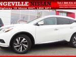 2015 Nissan Murano Platinum AWD Leather Navigation Around View in Orangeville, Ontario