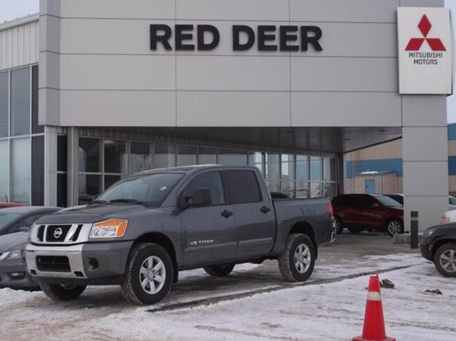 Used Car Truck Dealership Red Deer Ab Used Cars Red: 2015 Nissan Titan S Grey