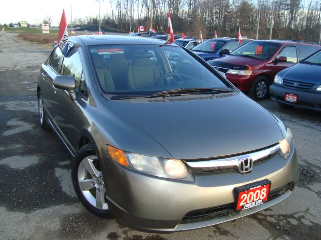 2008 honda civic lx sunroof great condition grey for Honda civic sunroof