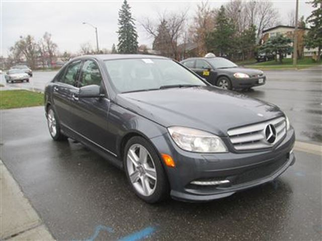 2011 mercedes benz c class c300 4matic grey toronto for Mercedes benz lease with bad credit