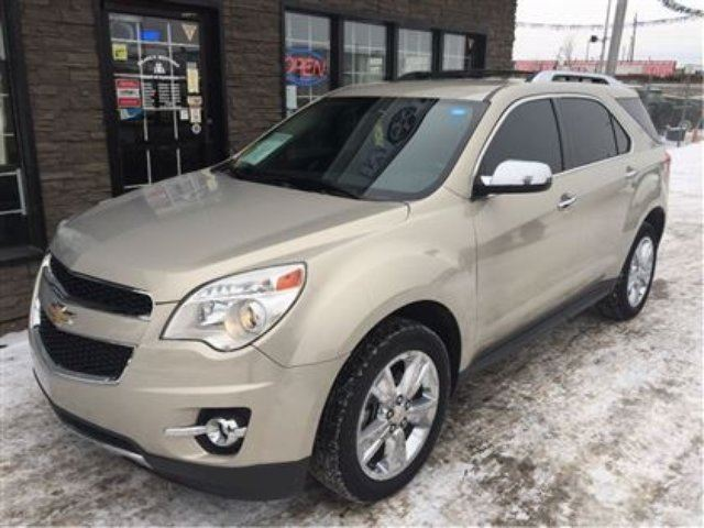 2010 Chevrolet Equinox Ltz Loaded Awd Tan Family Motors